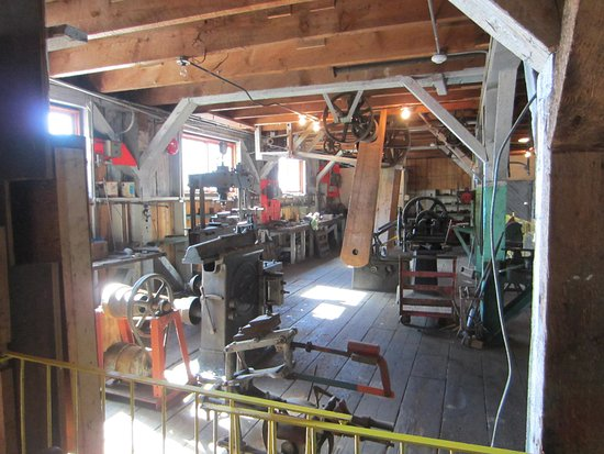 Prince Rupert, Canada: Inside one of the cannery buildings