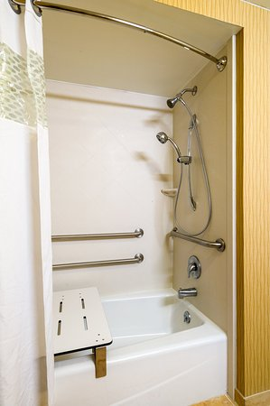 Shamokin Dam, Πενσυλβάνια: 1 Queen Mobility Room with Tub