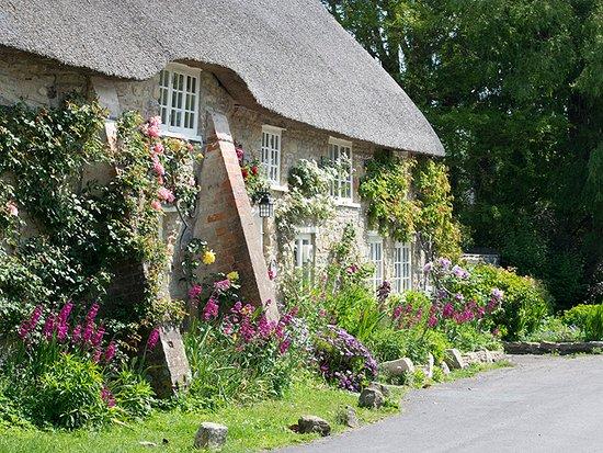 A short walk from the chocolate box village of Burton Bradstock