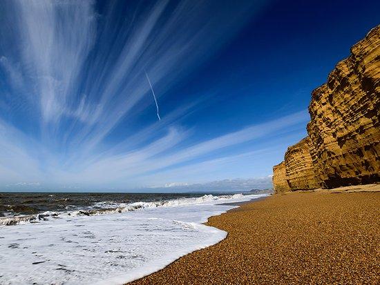 Burton Bradstock, UK: Hive Beach (25 min walk)