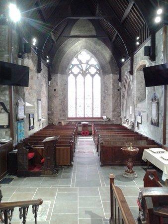 Carrickfergus, UK: South transept