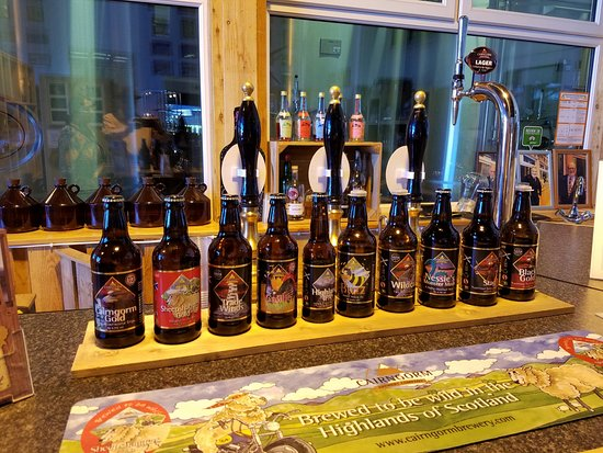 Aviemore, UK: Brewery products