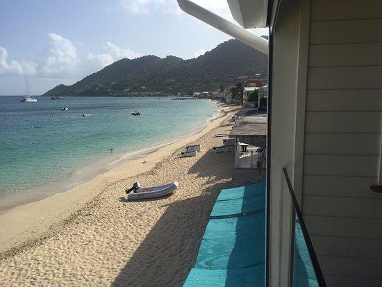 Ltc Hotel Partner Le Temps Des Cerises Jeans View Of Grand Case Beach From Room