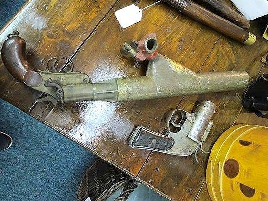Aberdeen, NC: interesting flare gun