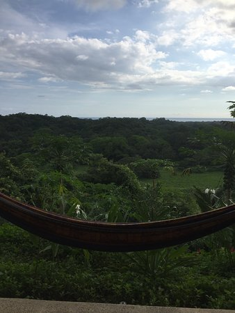 Costa Rica Yoga Spa: My favourite place to relax - a hammock outside my room overlooking the jungle and the ocean!