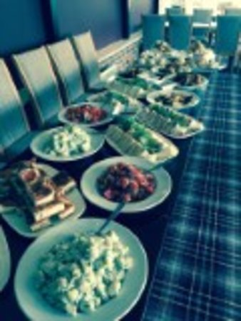 Fox and Hounds: One of our many buffets