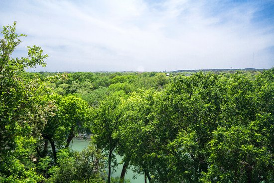 Village at Gruene Condos: View from the balcony