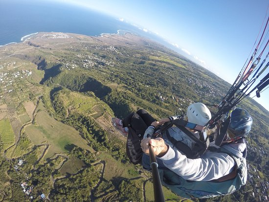 Saint-Leu, Reunion Island: Parapente