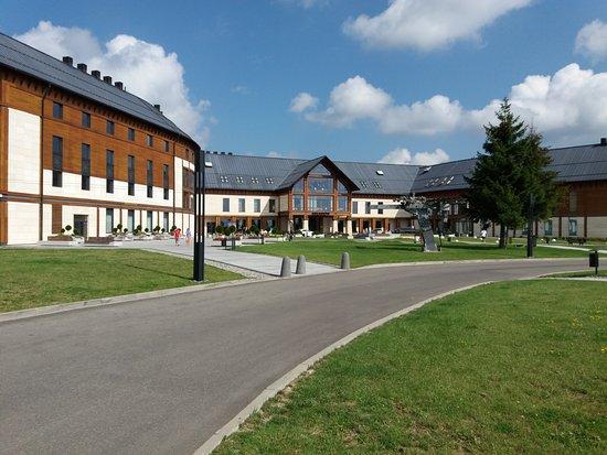 Ustrzyki Dolne, โปแลนด์: New building