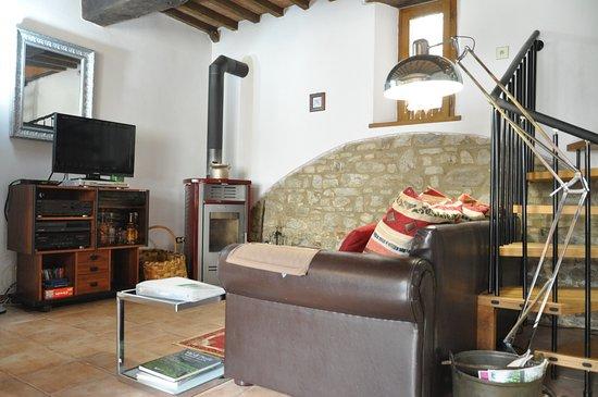 Mercatale, Italy: Livingroom