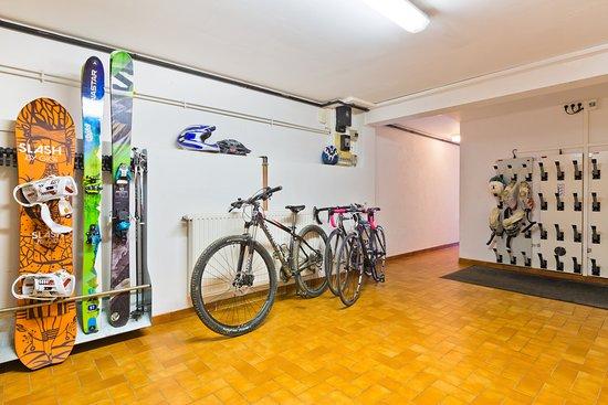 Logis le Roitelet : Ski / bike room