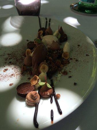 Langon, فرنسا: dessert autour du chocolat