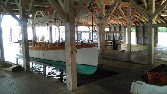 Birchwood, Ουισκόνσιν: Boat house