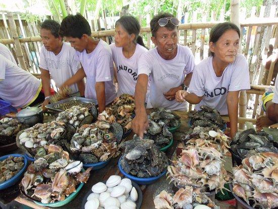 Lapu Lapu, Filipina: 超便宜的海鮮!