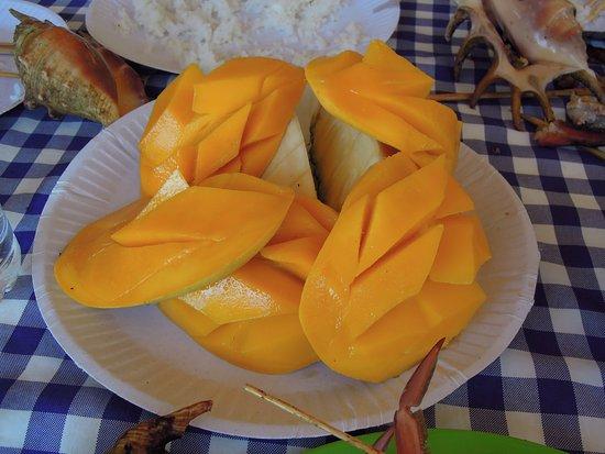 Lapu Lapu, Filipina: 好吃的芒果
