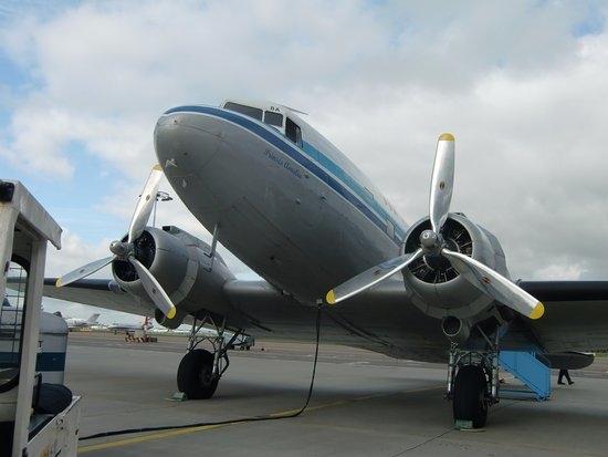 Schiphol, The Netherlands: The DC-3