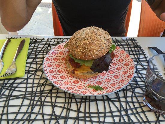 San-Nicolao, Francia: Hamburger