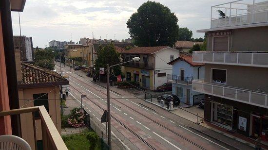 Favaro Veneto, Italia: балкон в номере