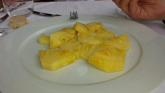 Tramonti, Itália: ananas