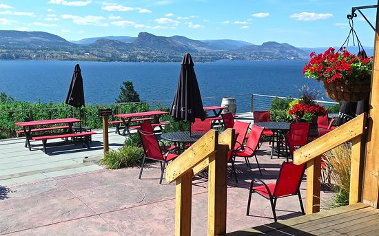 Penticton, Canada: Superb lake views