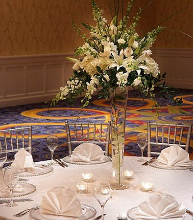 Quincy, Массачусетс: Grand Ballroom Banquet Setup