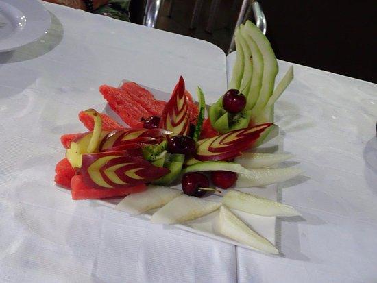 Algarrobo, إسبانيا: Dessert de fruits