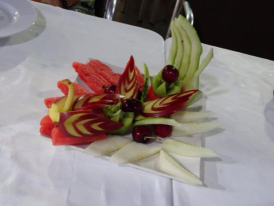 Algarrobo, Spanien: Dessert de fruits
