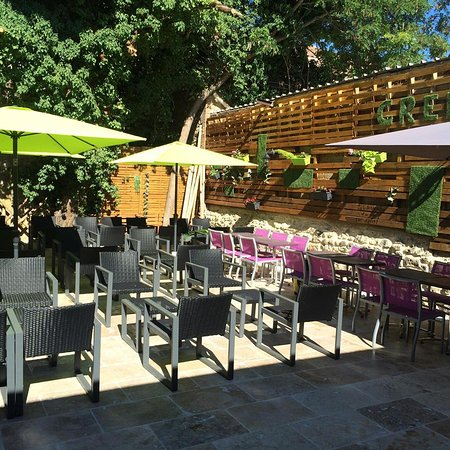 Salon-de-Provence, Francia: terrasse