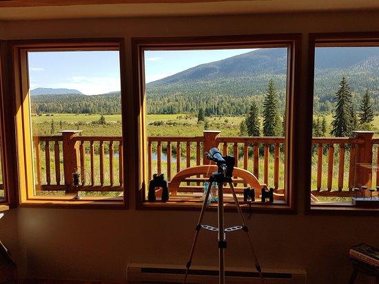 Clearwater Springs Ranch: vue de la salle principale