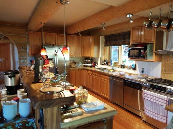 Clearwater Springs Ranch: la cuisine ou la magie opère