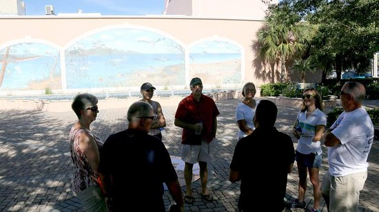 Venice, FL: This picture was taken at the start of the tour: Michael Biehl Park. Photo provided by the City