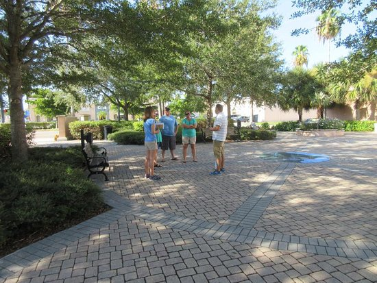 Venice, FL: Starting a recent tour at Michael Biehl Park