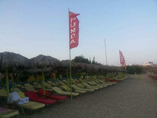 Piso Livadi, اليونان: Punda Beach