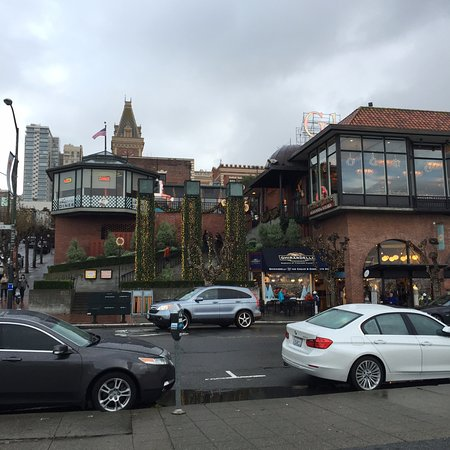 The Original Ghirardelli Chocolate Manufactory: From across the street