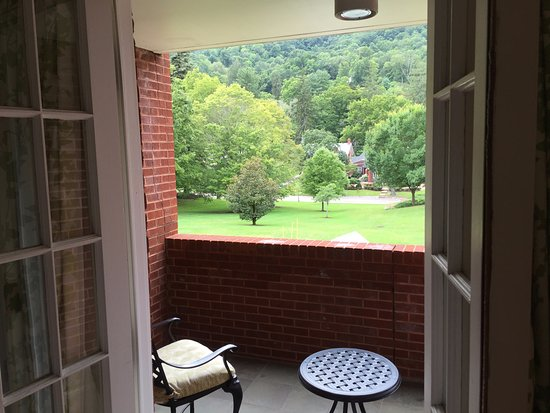 Hot Springs, VA: View from back porch