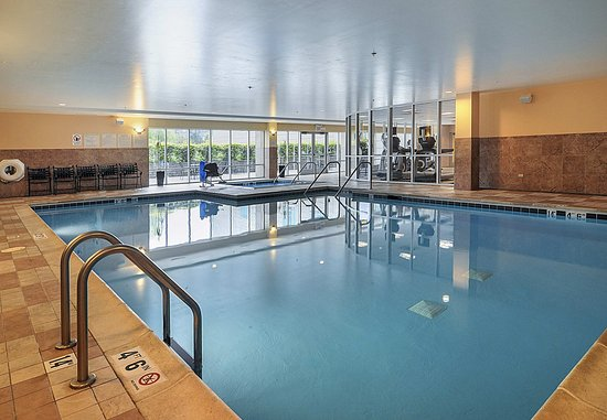 Burr Ridge, Ιλινόις: Indoor Pool