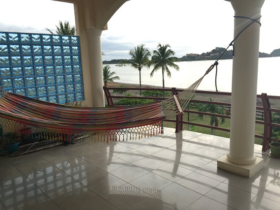 Playa Potrero, Costa Rica: 3rd floor living area where we had breakfast