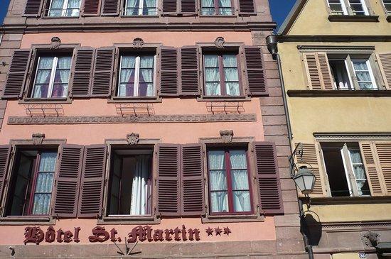 Hotel Saint Martin : les chambres