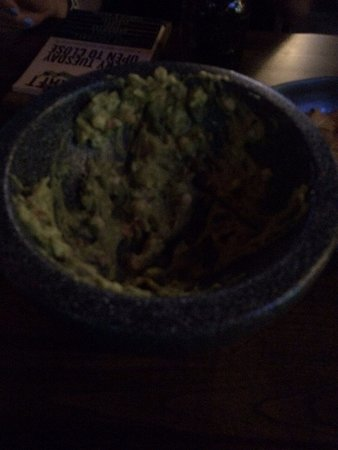 South Miami, FL: Guac is goood that we couldn't help but to devour it!