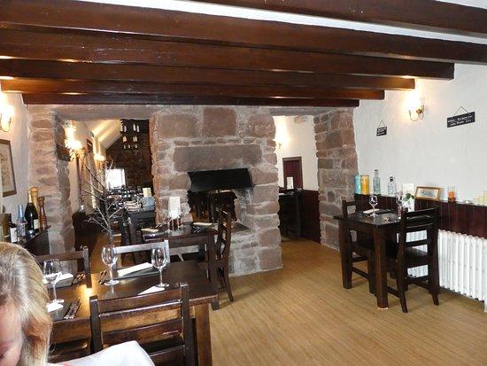The Creel Inn: The extended restuarant