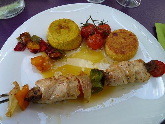 Belleville Sur Loire, Francia: bonne cuisine