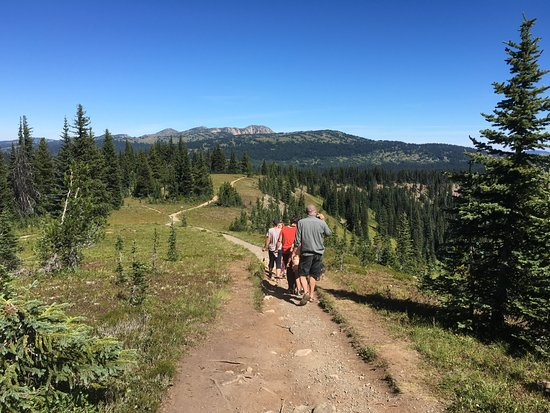 Manning Park, Kanada: Interpretive hike in the alpine