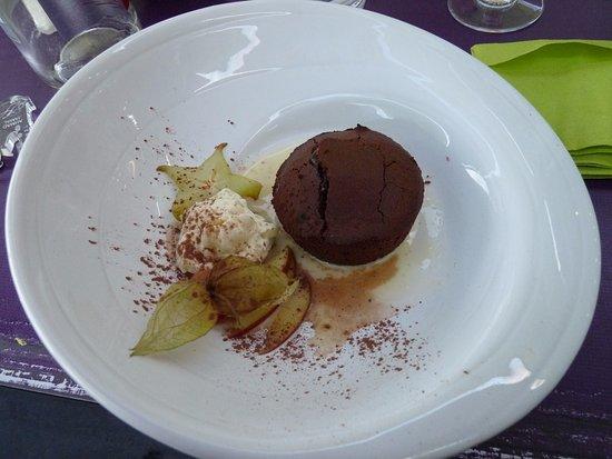 Belleville Sur Loire, Francia: bon dessert