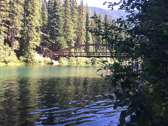 Manning Park, Kanada: Bridge between the two lakes