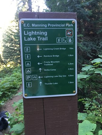 Manning Park, Kanada: Lots of trails