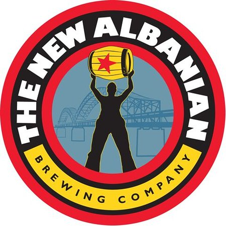 New Albany, IN: New Albanian Brewing Company Logo