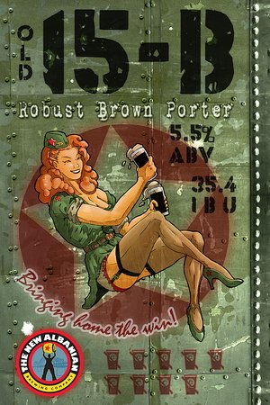 New Albany, IN: 15-B NABC Robust Brown Porter