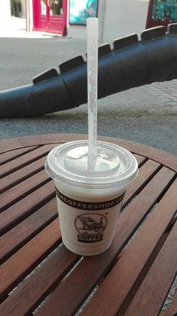 Niort, Frankreich: Milk shake chocolat blanc
