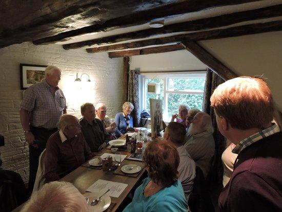 Cenarth, UK: Presentation to Club President