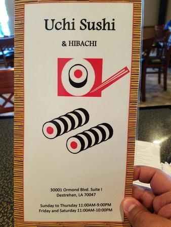 Destrehan, LA: Uchi Sushi